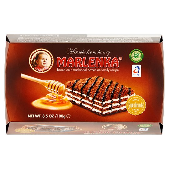 Marlenka Honey Cake with Cocoa 100g