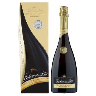 Bohemia Sekt Prestige Chardonnay Brut Quality Sparkling White Wine 0.75L