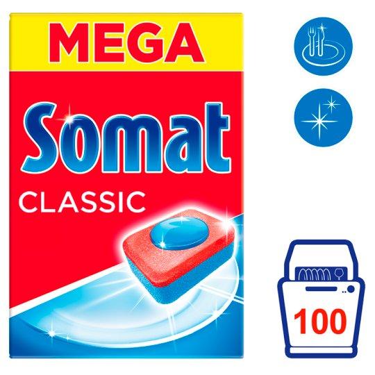 Somat Classic Prostředek na automatické mytí nádobí 100 tablet 1750g