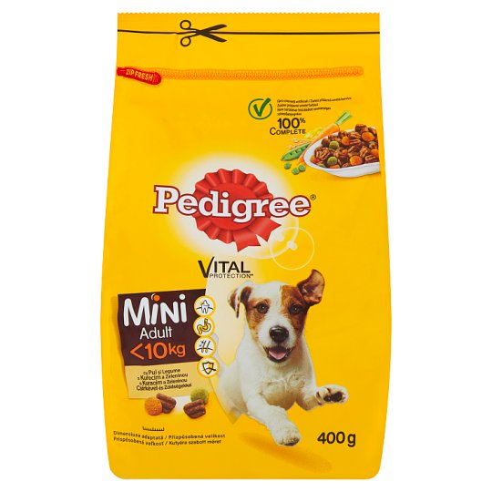 Pedigree Vital Protection Mini with Chicken and Vegetables 400g