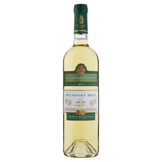 Zámecké Vinařství Bzenec Cellarium Bisencii Rulandské bílé bílé víno suché 0,75l