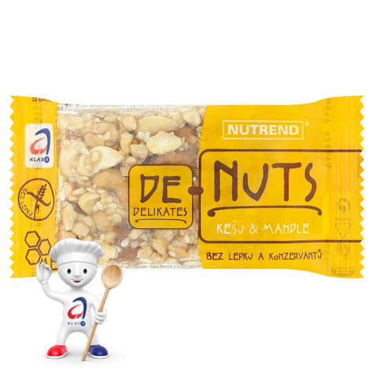 Nutrend DeNuts Almonds & Cashews 35g