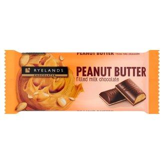Ryelands Chocolates Mléčná čokoláda s arašídovou náplní 100g