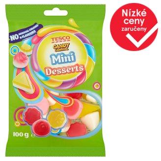 Tesco Candy Carnival Mini Desserts želé s ovocnými příchutěmi 100g