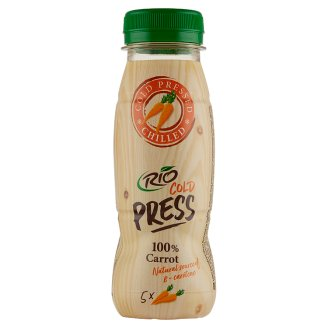 RIO FRESH 100% mrkvová šťáva 200ml