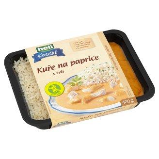 Heli Klasické Chicken Paprika with Rice 400g