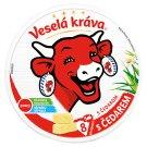 Veselá Kráva Tavený sýr s Čedarem 8 ks 120g
