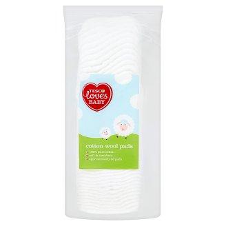 Tesco Loves Baby Bavlněné tampony pro děti 50 ks