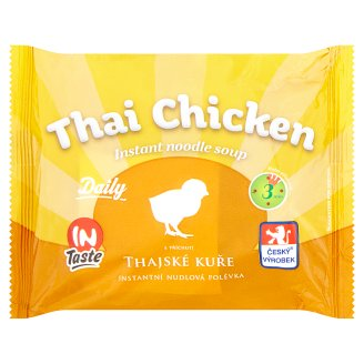 InTaste Daily Thai Chicken Instant Noodle Soup 60g