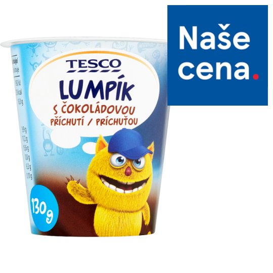 Tesco Lumpík Desset with Chocolate Flavor 130g