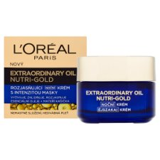 image 2 of L'Oréal Paris Extraordinary Oil Nutri-Gold Brightening Night Cream with Mask Intensity 50ml