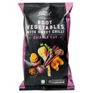 Tesco Finest Root Vegetable Crinkle Cut Crisps with Sweet Chilli 125g
