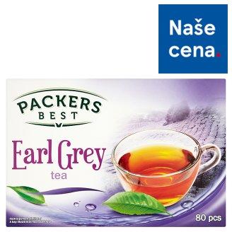 Packers Best Earl Grey černý čaj 80 x 1,5g
