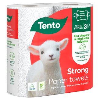 Tento Extra Strong nejpevnější papírové ručníky 2 role