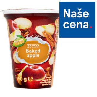 Tesco Baked Apple Yogurt 150g