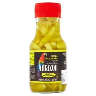 Amazon Zelené amazonské papričky v kyselém nálevu 178g