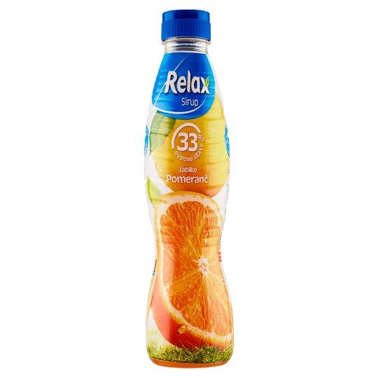 Relax Sirup jablko pomeranč 700ml