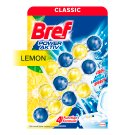 Bref Power Aktiv Fragrance Boost Lemon tuhý WC blok 3 x 50g
