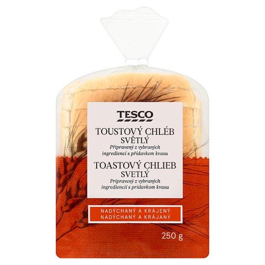 Tesco Toast White Bread 250g