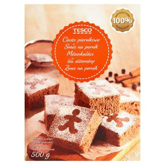 Tesco a Mixture of Gingerbread 500g