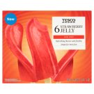 Tesco Strawberry Jelly Ice Cream 6 x 50g