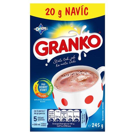 Granko Instantní kakaový nápoj  225g+20g