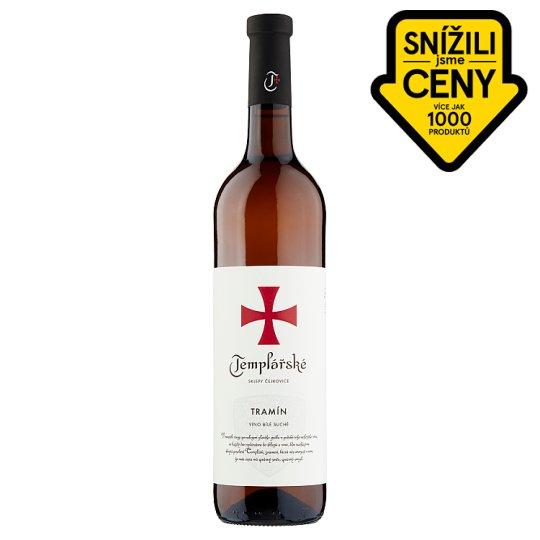 Templářské Sklepy Čejkovice Tramín bílé suché víno 0,75l