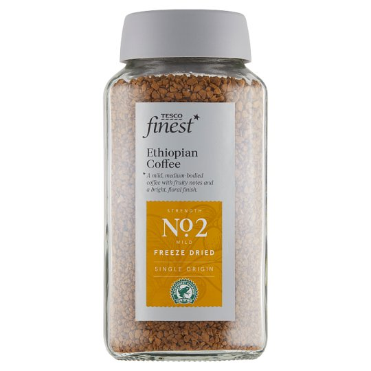 Tesco Finest Ethiopian instantní káva sušená mrazem 100g