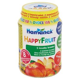 Hamánek Happy Fruit S kousky broskví 190g