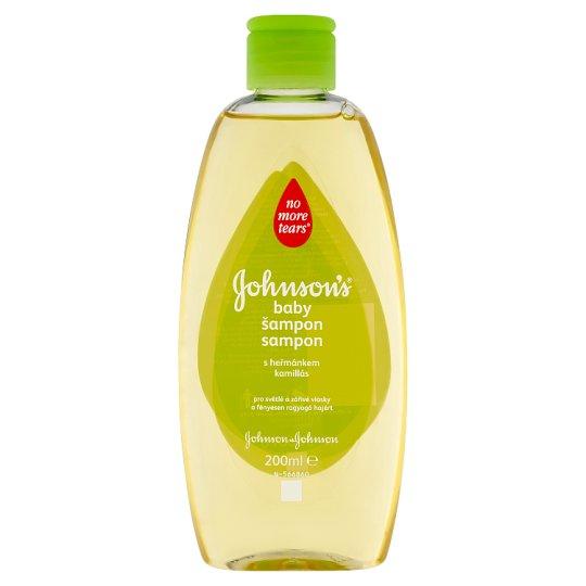 Johnson's Baby Shampoo with Chamomile 200ml