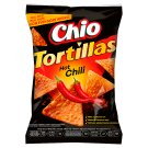 Chio Tortillas Corn Snack with Chili Flavour 125g