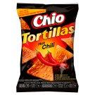 Chio Tortillas Kukuřičný snack s příchutí chili 125g