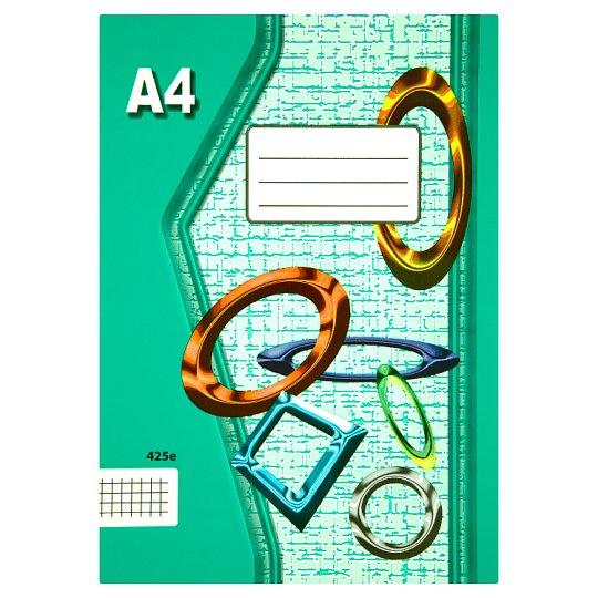 Papírny Brno 425e školní sešit A4 čtverečkovaný 20 listů
