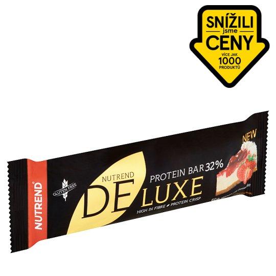 Nutrend Deluxe Proteinová tyčinka příchuť jahodový cheesecake 60g