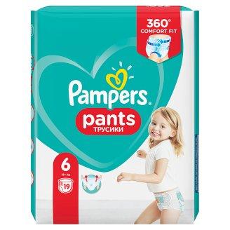 Pampers Pants V6, 19Plenek, Snadno Se Oblék. Vzduch. Kanál.