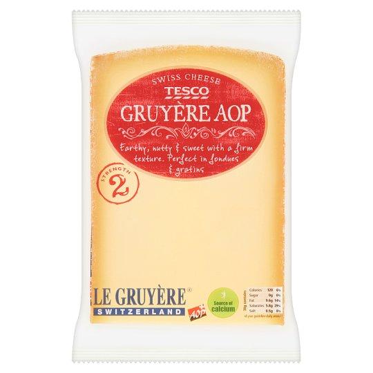 Tesco Gruyere AOP Swiss Cheese 195g