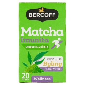 Bercoff Bylinný čaj s mátou a matcha 20 x 1,75g