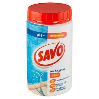 Savo do bazénu pH- 1,2kg