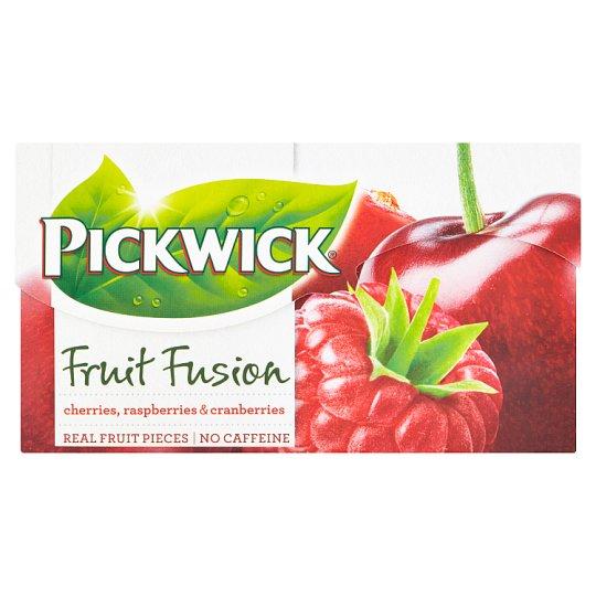 Pickwick Fruit Fusion Cherries, Raspberries & Cranberries 20 x 2g