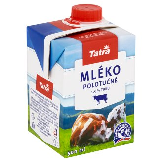 Tatra Long Life Half Fat Milk 500ml