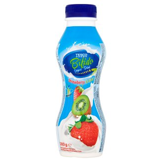 Tesco Bifido Strawberry & Kiwi Yogurt Drink 300g