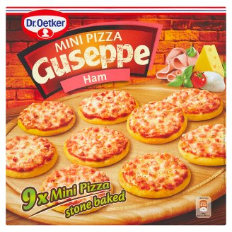 Dr. Oetker Guseppe Mini pizza šunková 9 ks 270g