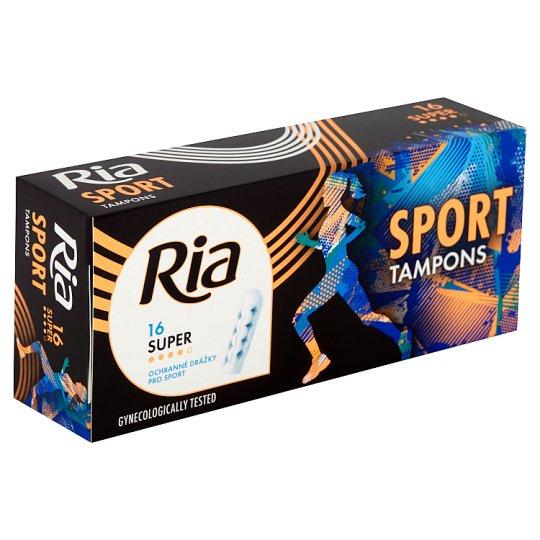 Ria Sport Super Tampons 16 pcs