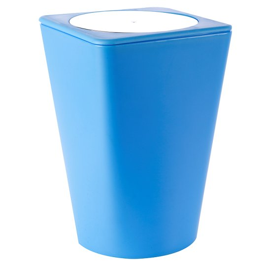 F&F Basics Odpadkový koš modrý