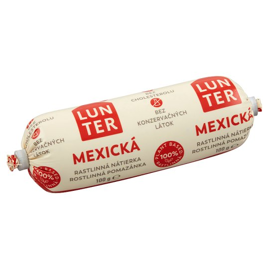 Lunter Mexican Vegetable Spread 100g