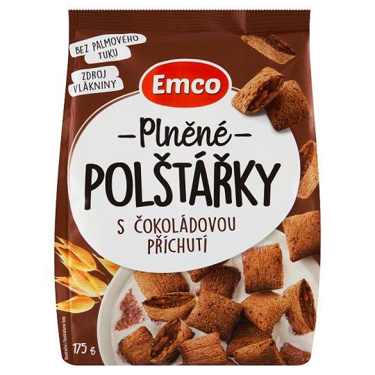 Emco Plněné polštářky s čokoládovou příchutí 175g