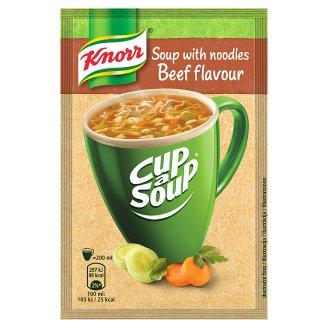 Knorr Cup a Soup Hovězí instantní polévka s nudlemi 13g