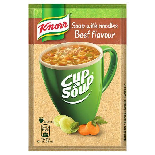 Knorr Instant Soup with Beef Flavour 13g