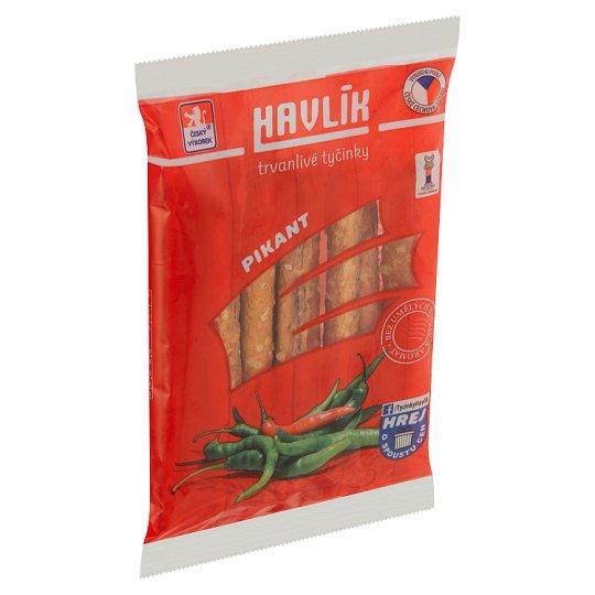 Havlík Spicy Long Shelf Life Salt Sticks with Cheese 90g