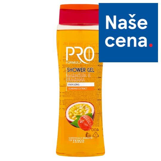 Tesco Pro Formula Sprchový gel Maracuja & Guarana 400ml